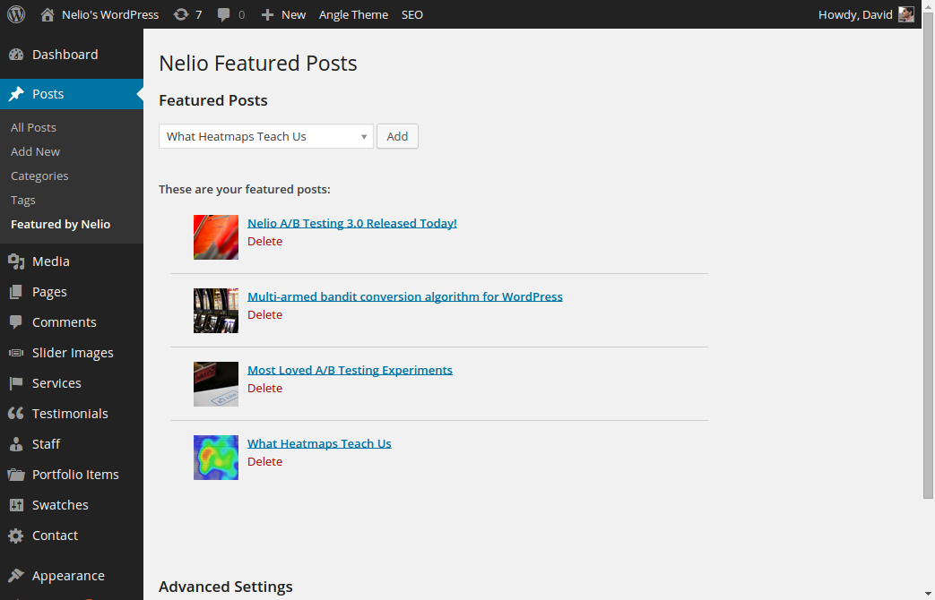 Easy Settings in Nelio Featured Posts