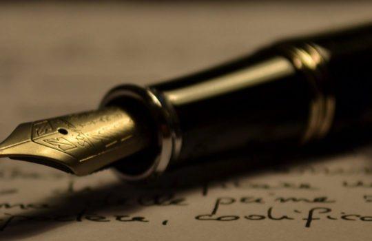 Pen on a Paper