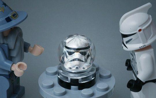 Lego's fortune teller