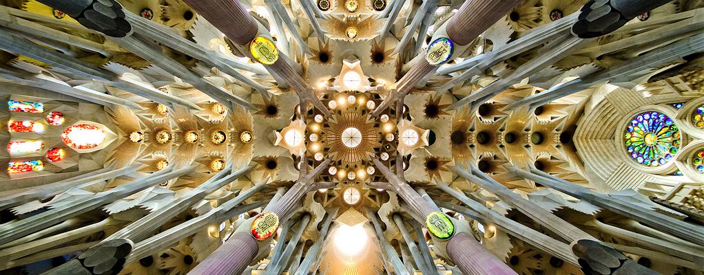 Picture of Sagrada Familia Interior