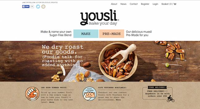 Yousli website