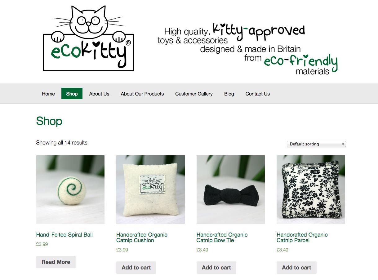 EcoKitty website