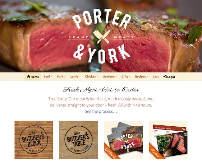 Porter & York website
