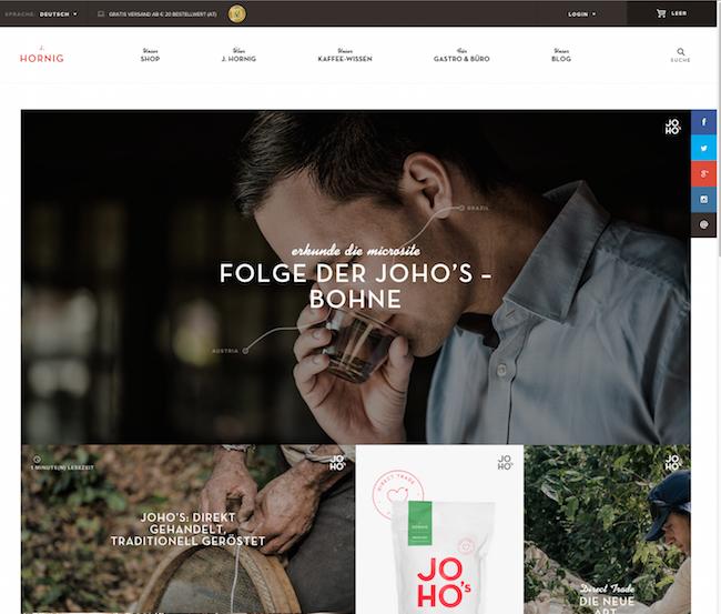 J. Hornig website