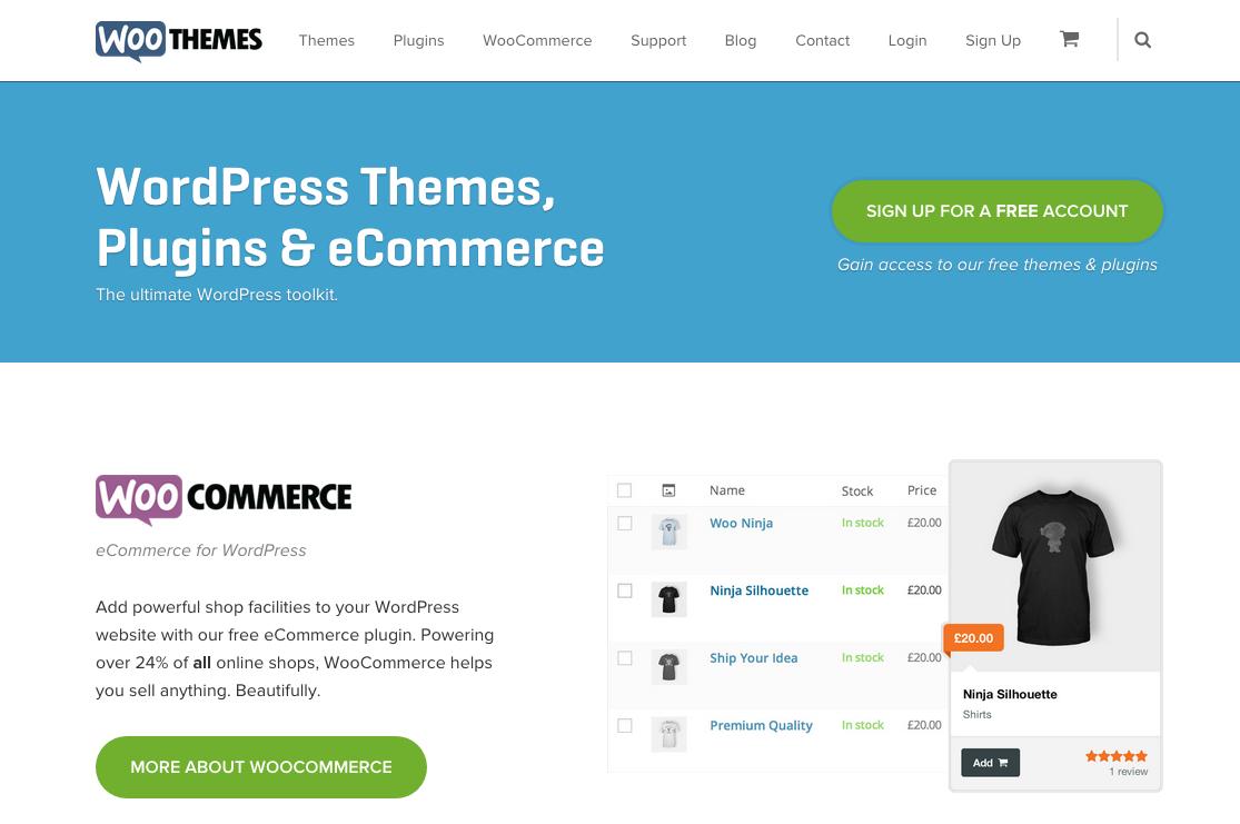 50 Great WooCommerce Websites
