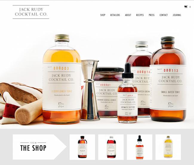 Jack Rudy Cocktail Co. website