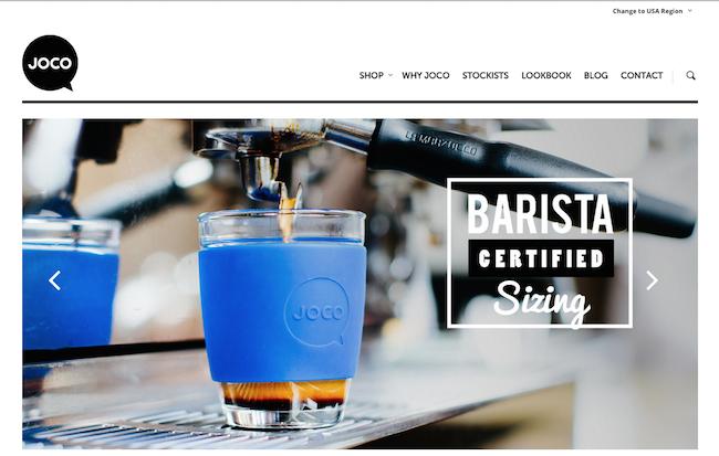 Joco Cups website