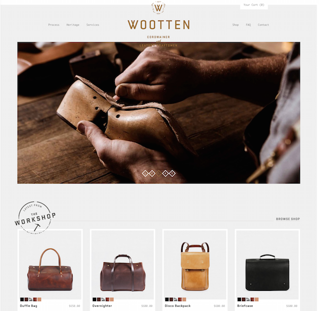 Wootten website