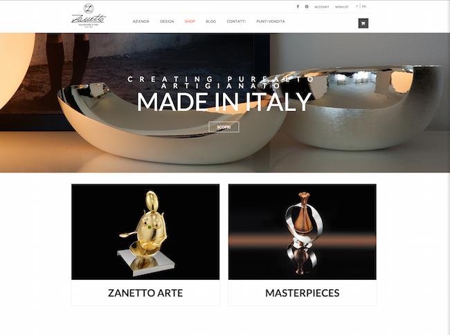 Zanetto website