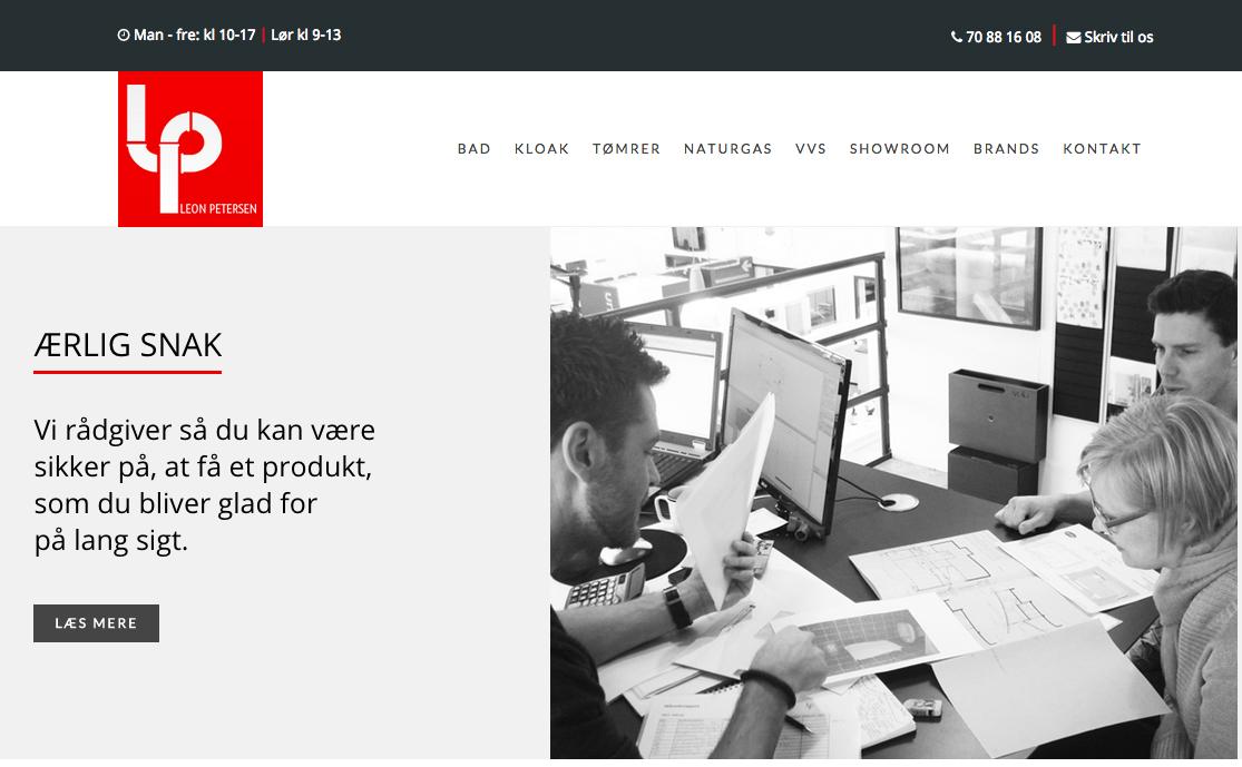 Leon Petersen website