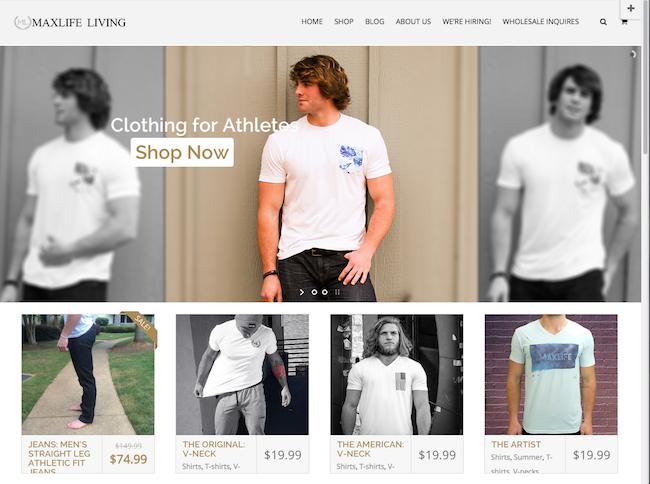 Maxlife Living website