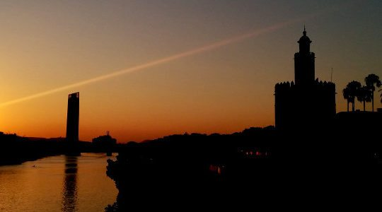 Sunset in Seville