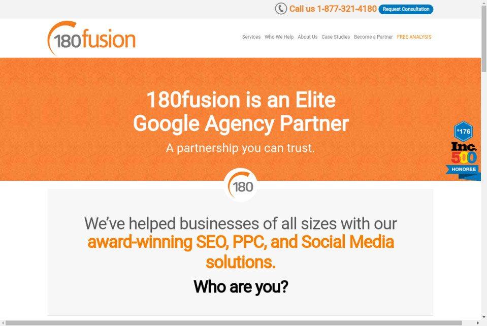 180fusion Website
