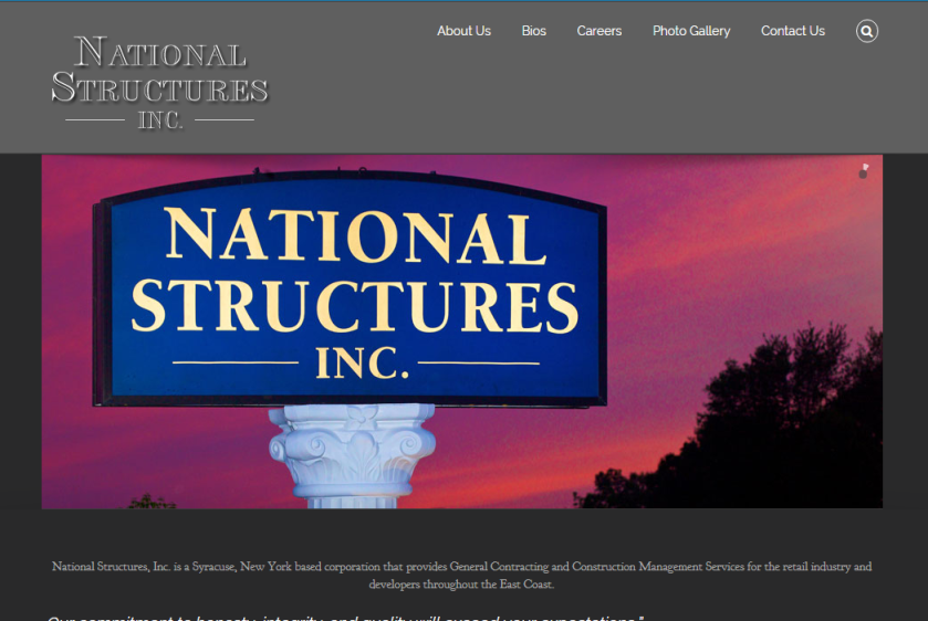 National Structures Website
