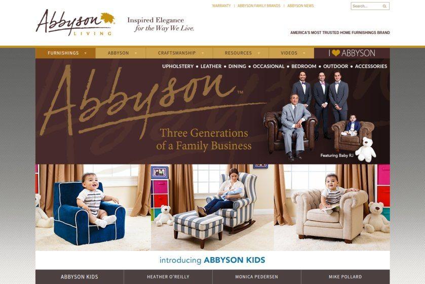 Abbyson Living Webiste