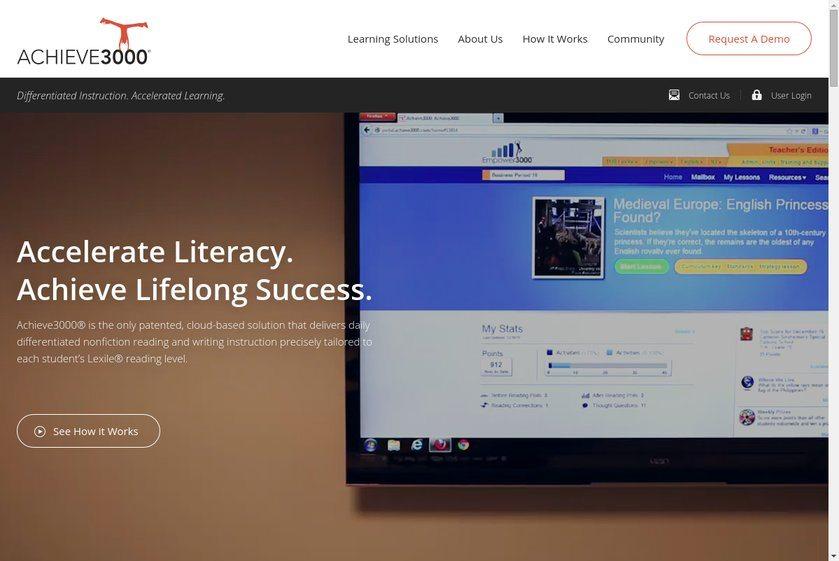 Achieve3000 Website