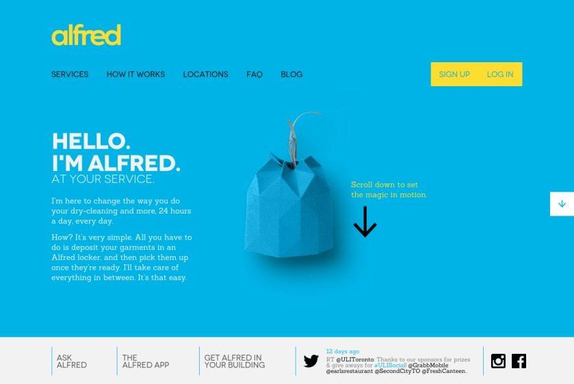 Alfred Service Website