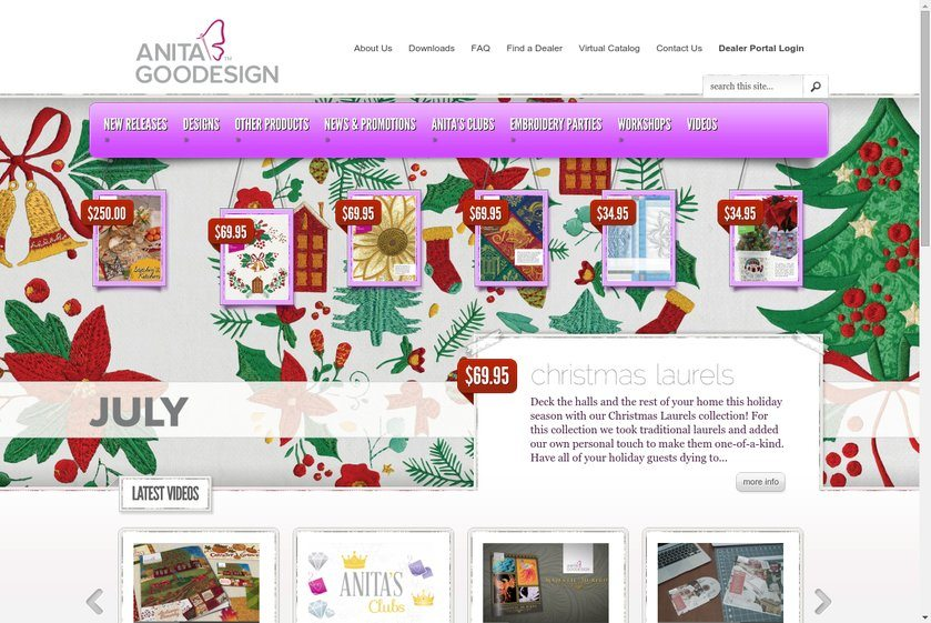 Anita Goodesign Website