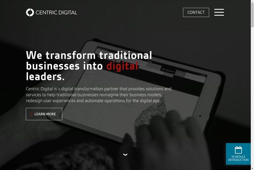 Centric Digital Website