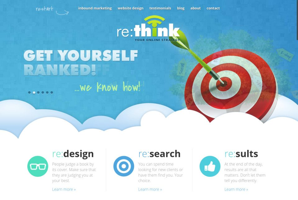 Re:think Website