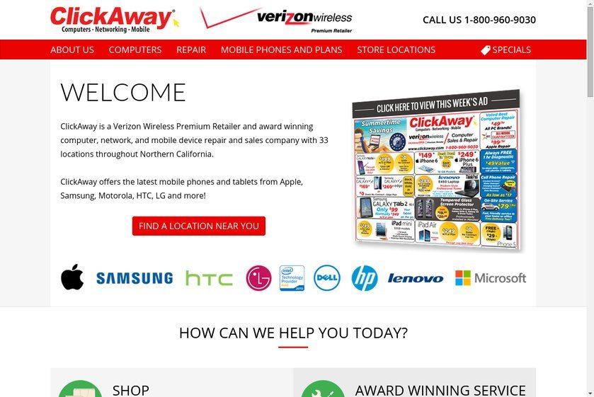 ClickAway Website