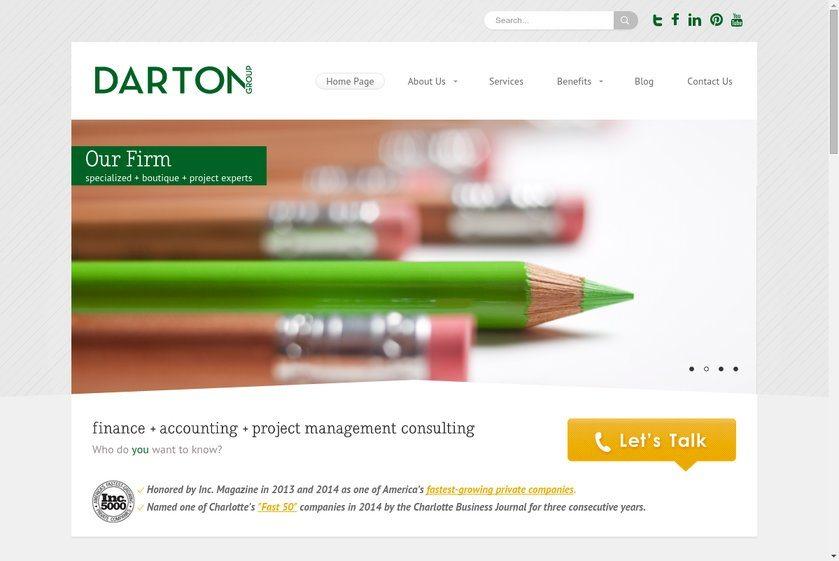Darton Group Website