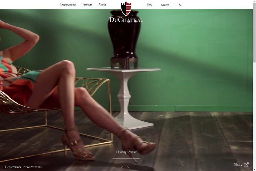 DuChateau Floors Website