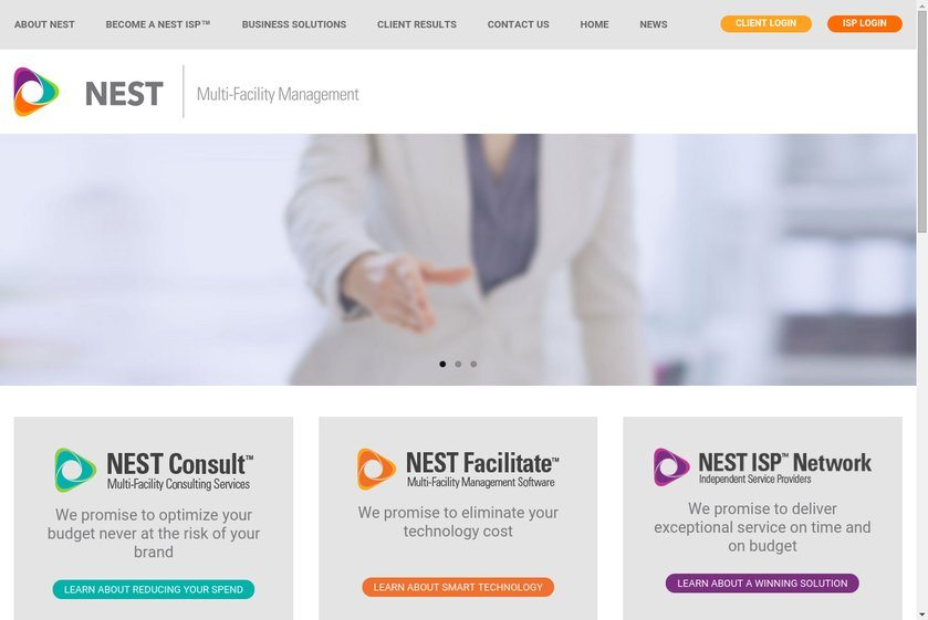 Nest International Website
