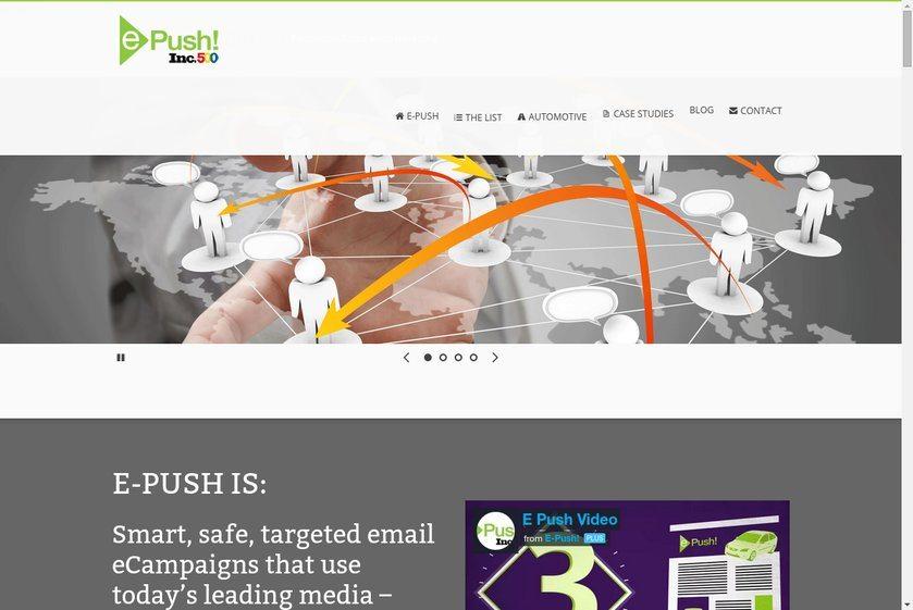 E-push Website