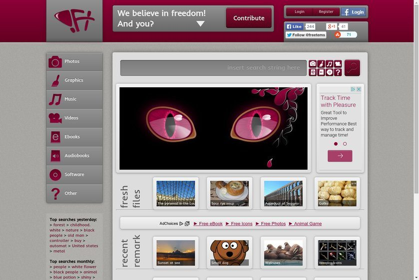 Freetems.net Website