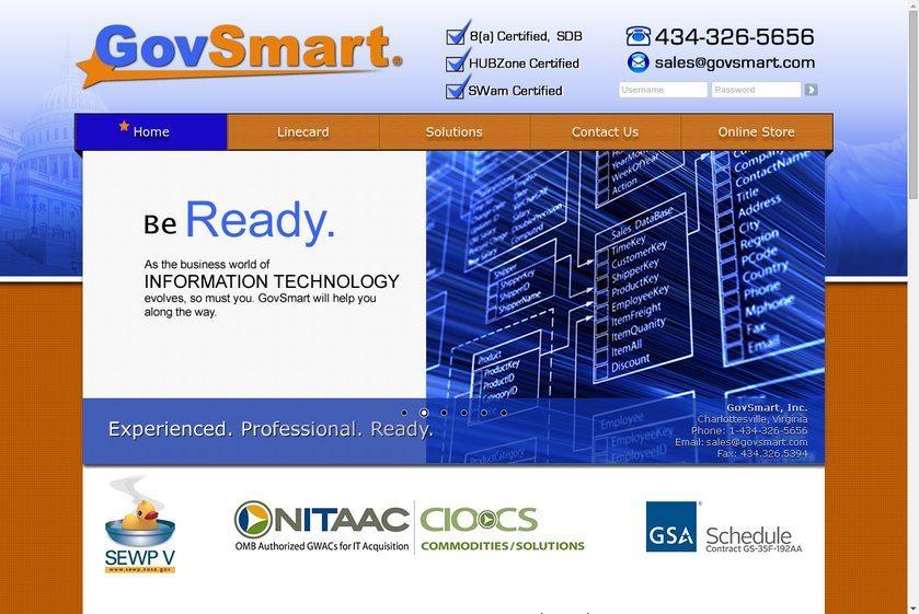GovSmart Website