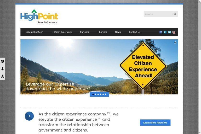 High Point Global Website