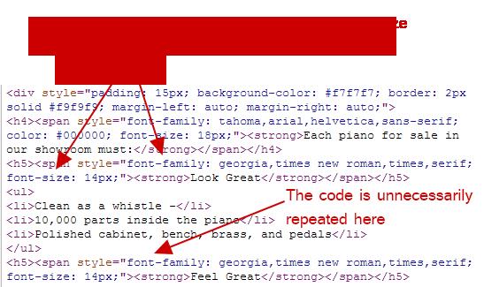 Inline-css-example