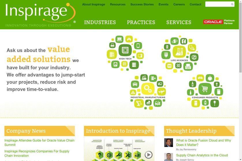 Inspirage Website