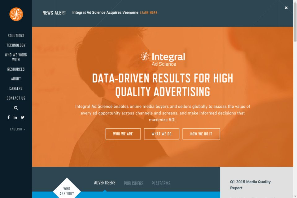 Integral Ad Science Website
