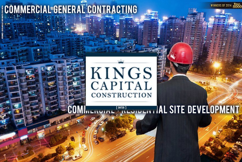 Kings Capital Construction Website