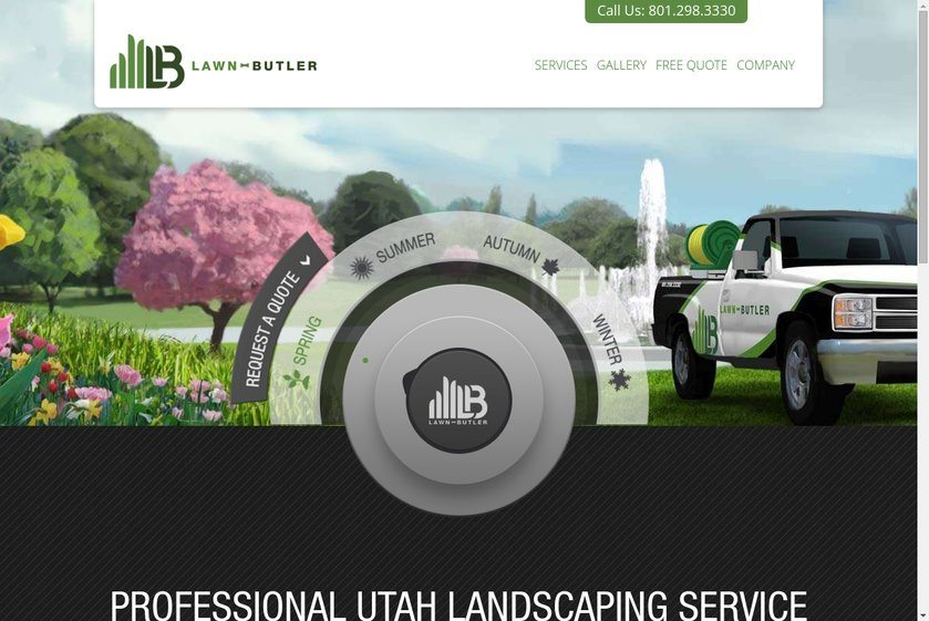 Lawn Butler Website