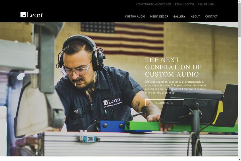 Leon Speakers Website