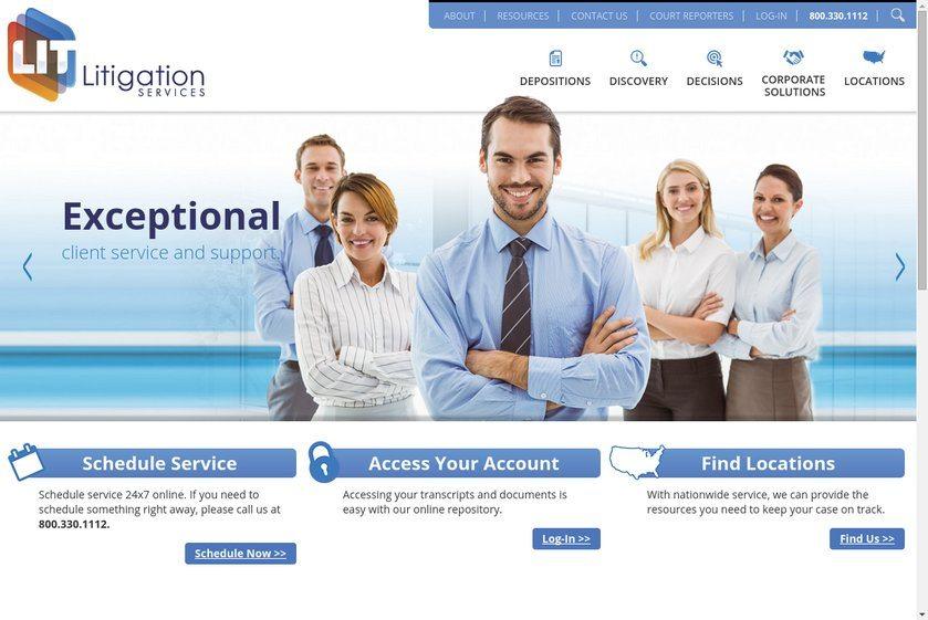 Litigation Services Website