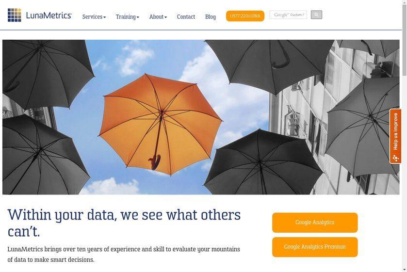 LunaMetrics Website