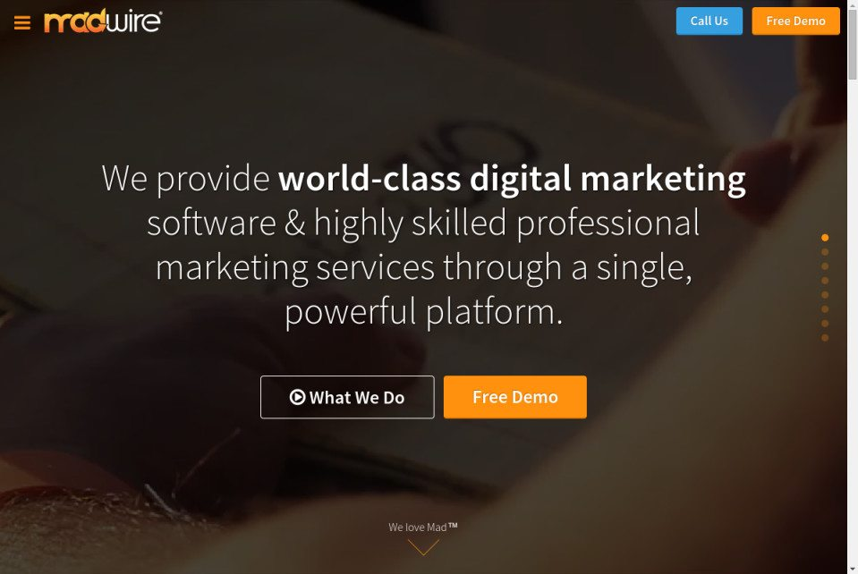 Madwire Website