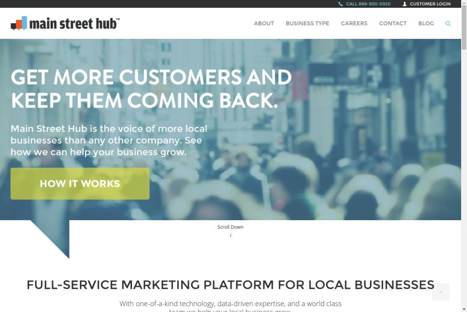 Main Street Hub Website