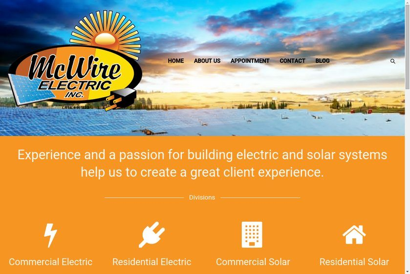 McWire Electric Website