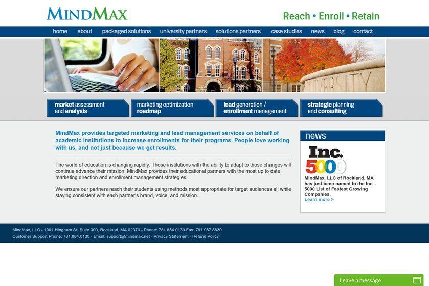 MindMax Website