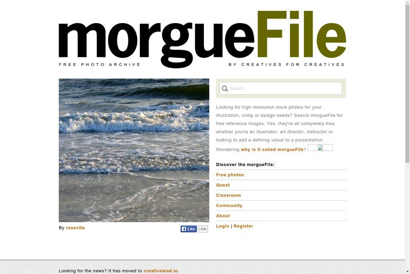 morgueFile Website