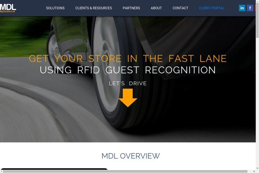 MyDealerLot Website