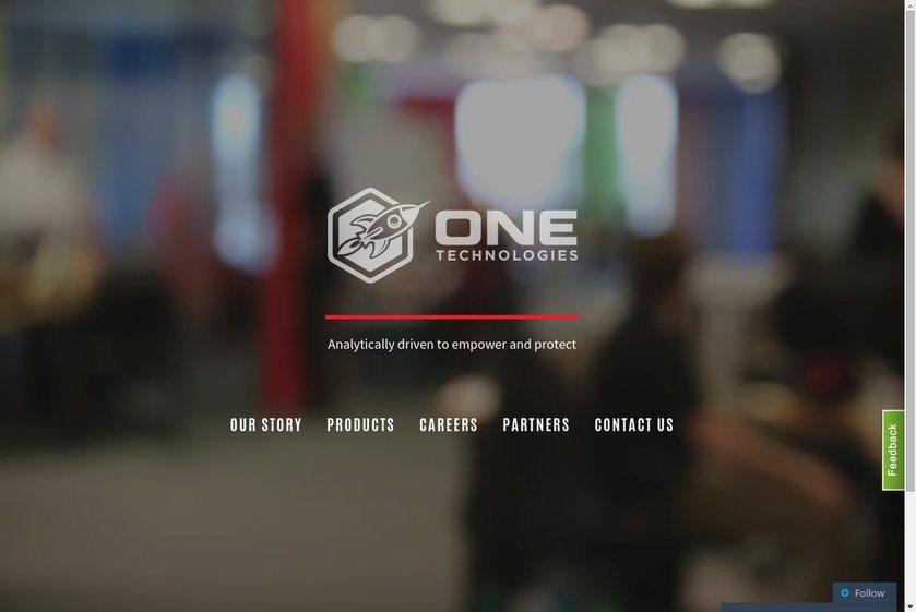 One Technologies Website
