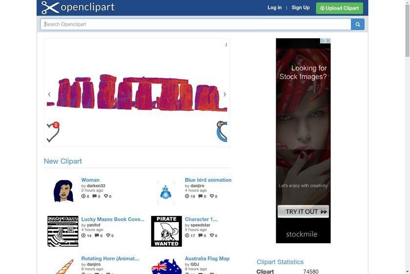 openclipart Website