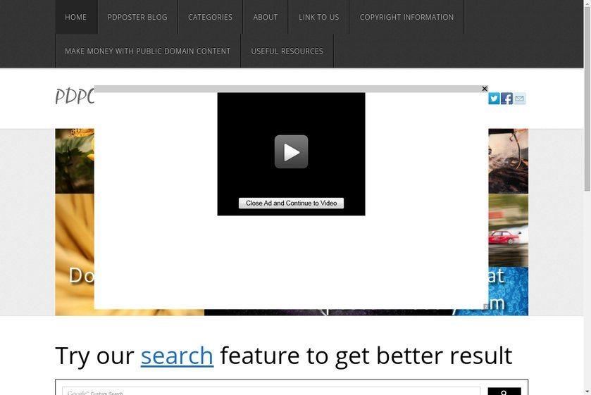 PDPoster Website