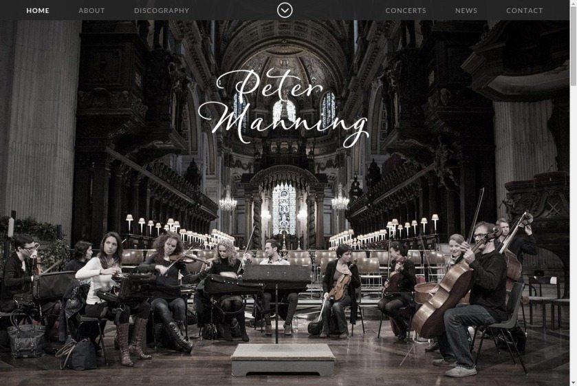 Peter Manning Website